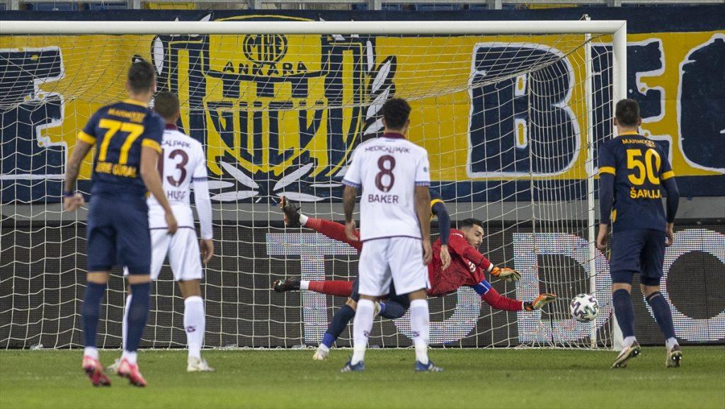Ankaragücü - Trabzonspor maç sonucu: 0 - 1 - Ankaragücü Haber Sitesi